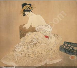 Utagawa, The Courtesan Tagasode