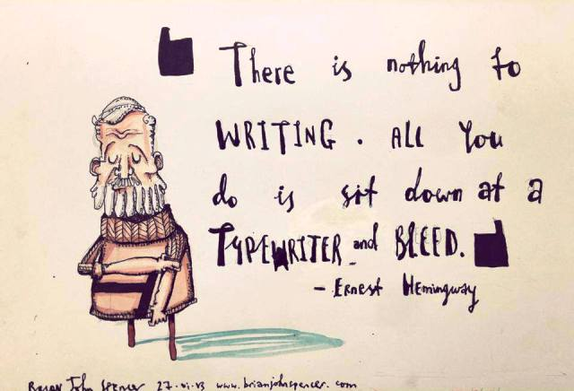 Sailing Quotes Hemingway Quotesgram: March « 2014 « Jmledwellwrites