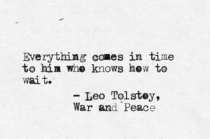Tolstoy Type write