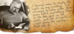 Hemingway Writen Parch