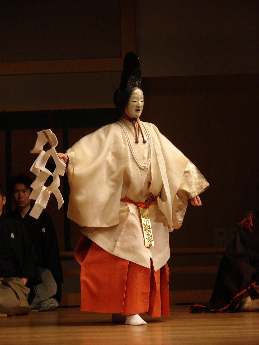 the noh theater Masks are an essential part of the japanese noh theater whilst the actors of the japanese kabuki theater perform without masks but there is one exception the kabuki play nanatsumen (the seven masks) is a fast role change play with masks.