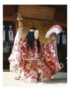 SuperStock_442-6748~Noh-Actor-Traditional-Theater-Tokyo-Honshu-Japan-Posters