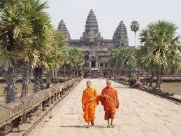 ANk wat orange monks
